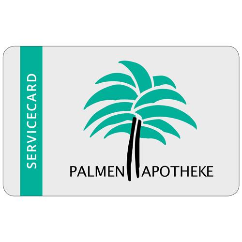 Servicecard der Palmenapotheke in Ottobrunn
