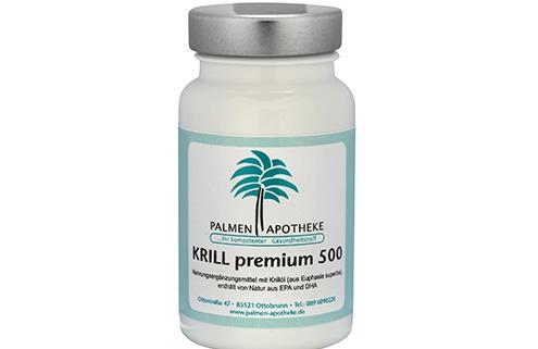 Nahrungsergänzungsmittel aus der Apotheke Krill 500 premium