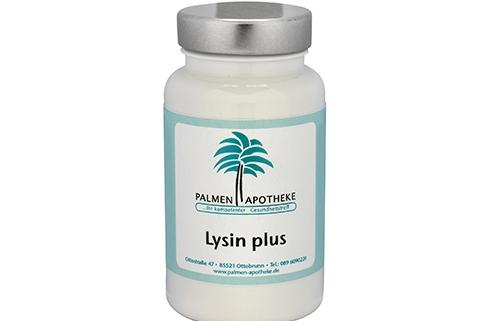 Nahrungsergänzungsmittel aus der Apotheke Lysin plus