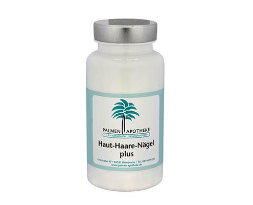 Nahrungsergänzungsmittel aus der Apotheke Haut - Haare - Nägel - Plus