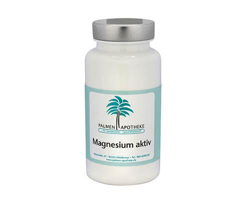 Nahrungsergänzungsmittel aus der Apotheke Magnesium-Aktiv