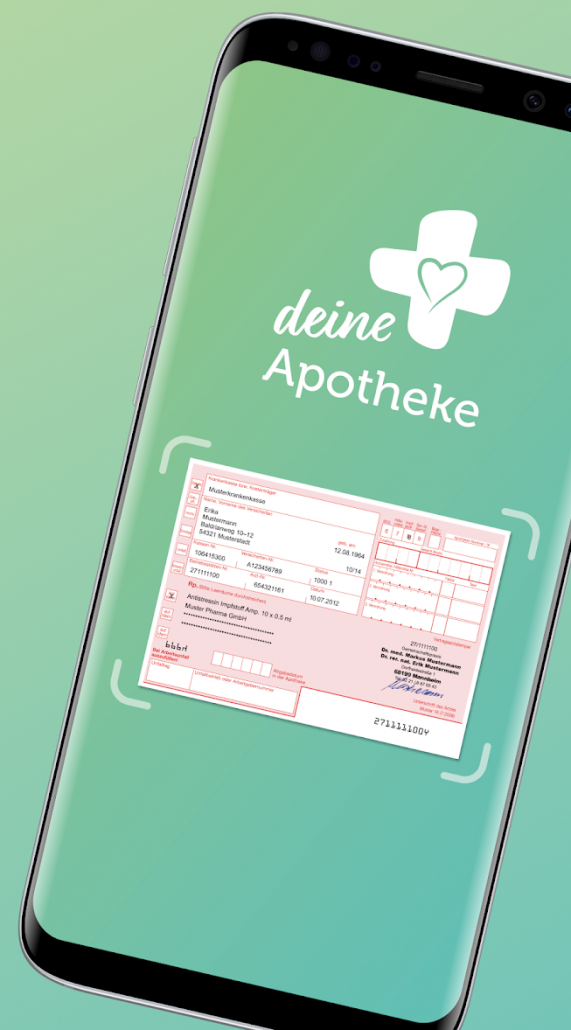 Palmenapotheke- digitale App für Rezepte