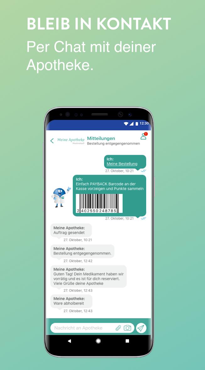 Chatbot in der Apothekenapp